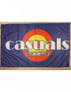 """Bandera """"Casuals España"""""""