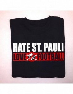 "Sudadera Sin Capucha ""Hate ST.Pauli - Love Football"""