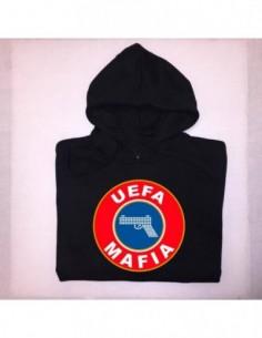 """Sudadera Capucha """"UEFA MAFIA"""" Chico"""