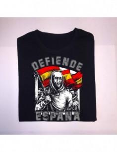 """Camiseta """"Defiende España"""" Chico"""