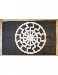 """Bandera """"Sol Negro"""""""