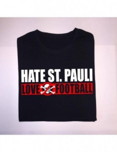 "Camiseta ""Hate ST.Pauli - Love Football"" Chico"