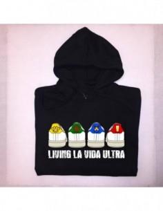 """Sudadera Capucha """"H BANDERA"""" Chico"""