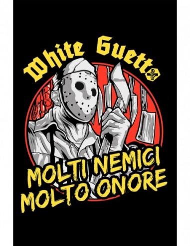 """Bandera White Guetto """"Molti Nemici"""""""