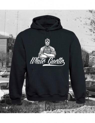 """White Guetto Sudadera Capucha """"Jason"""""""