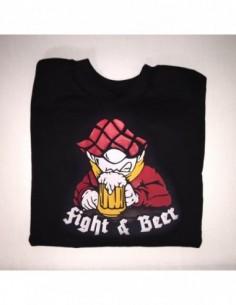 "Sudadera Sin Capucha ""Fight & Beer"""